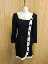 Load image into Gallery viewer, Scaasi Vintage 80's Long Sleeve Dress (M)
