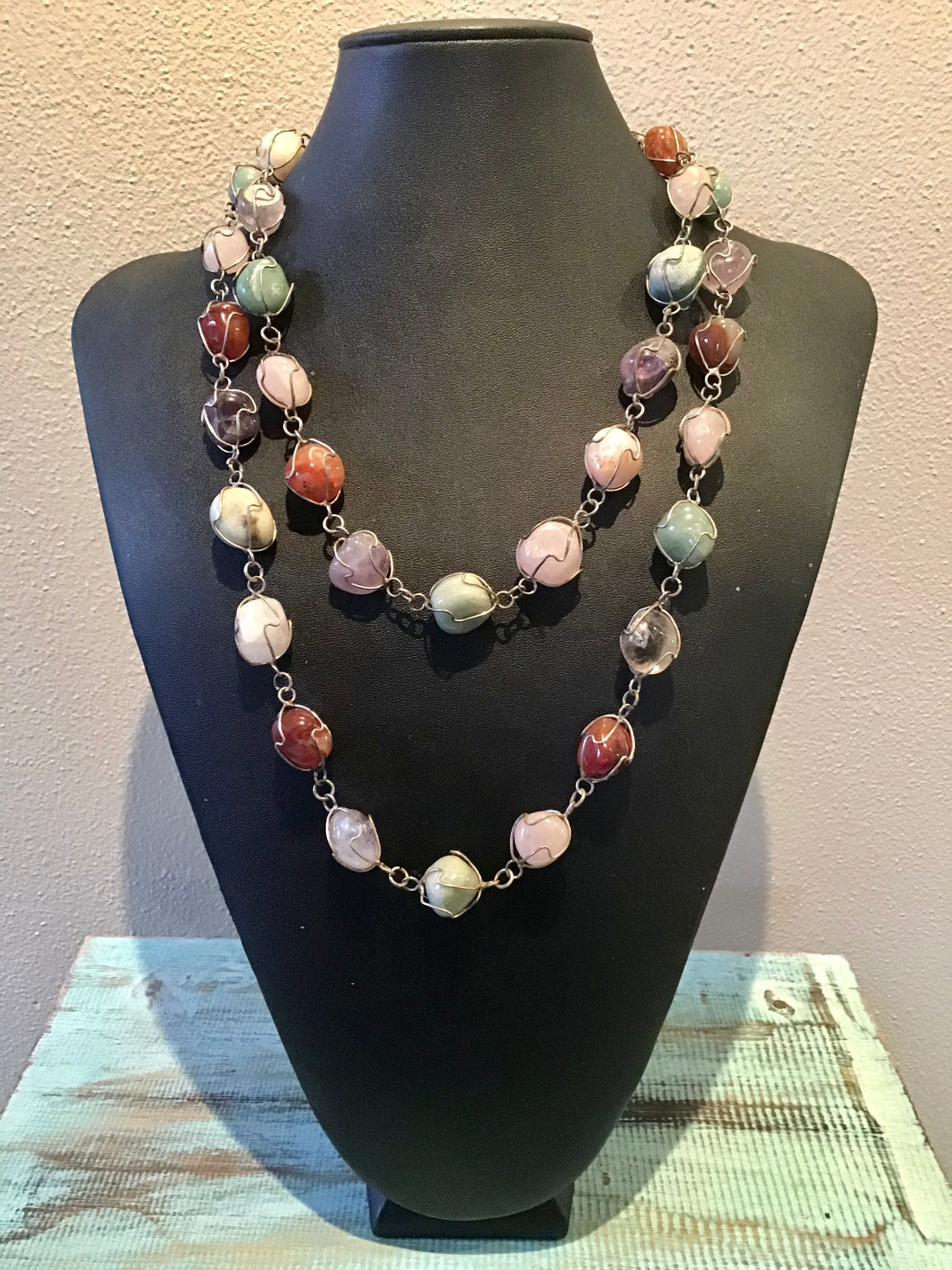 Polished Stone Necklace
