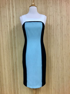 White House Black Market Colorblock Dress (XS)