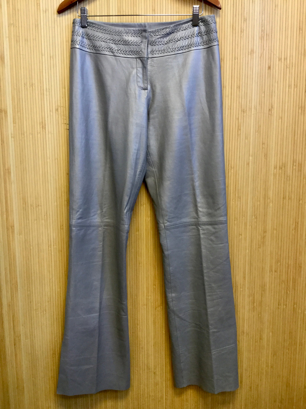 Cache Leather Flare Pants (M)