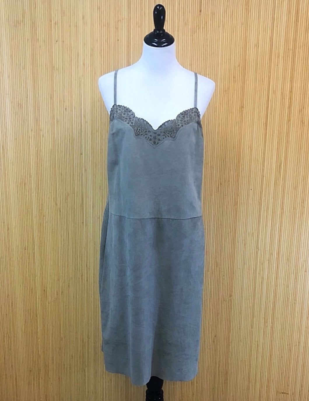 Polo Suede Sundress (XL)
