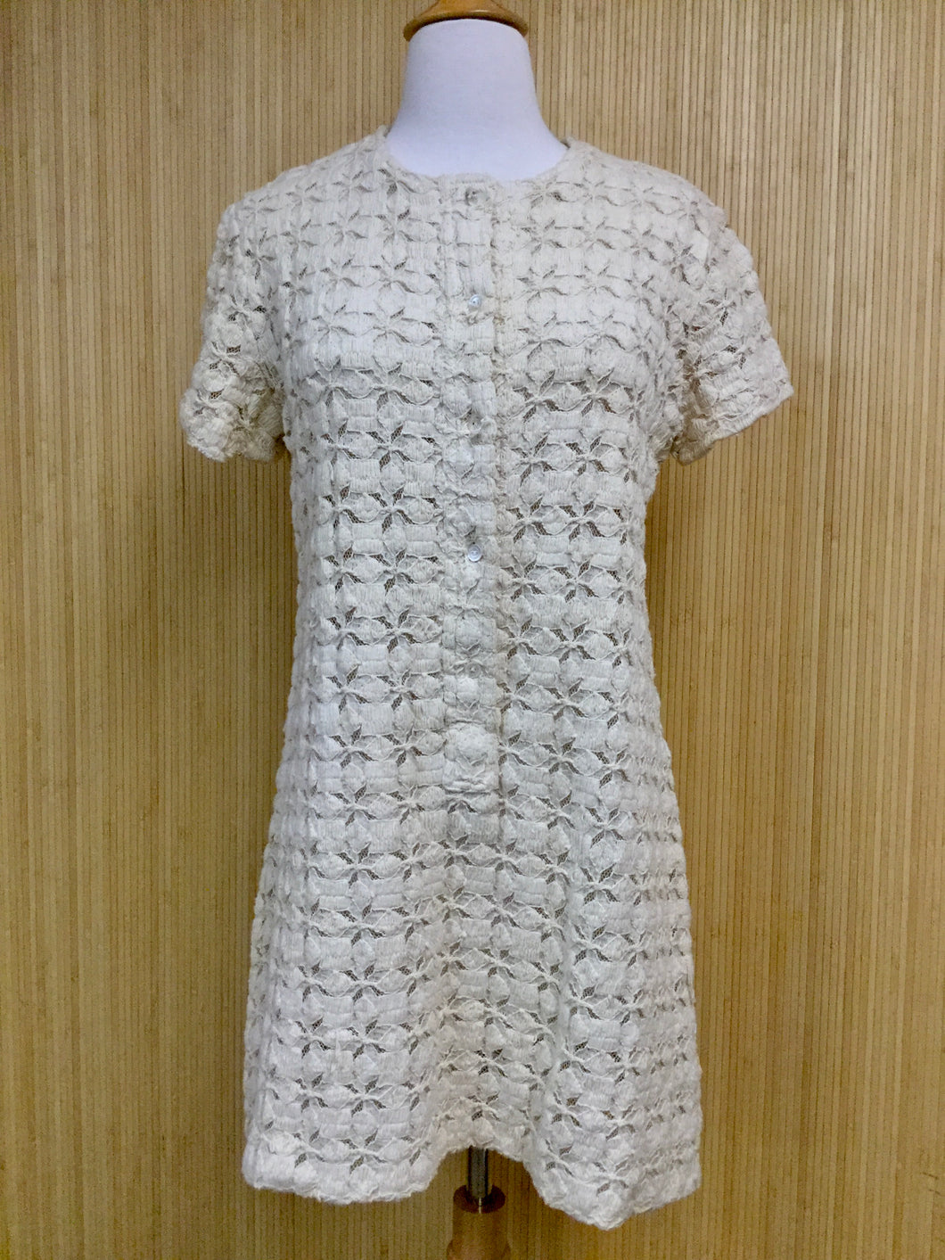 Plymouth Lace Shift Dress (S)
