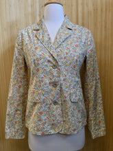 Load image into Gallery viewer, Garnet Hill Floral Blazer (XS)