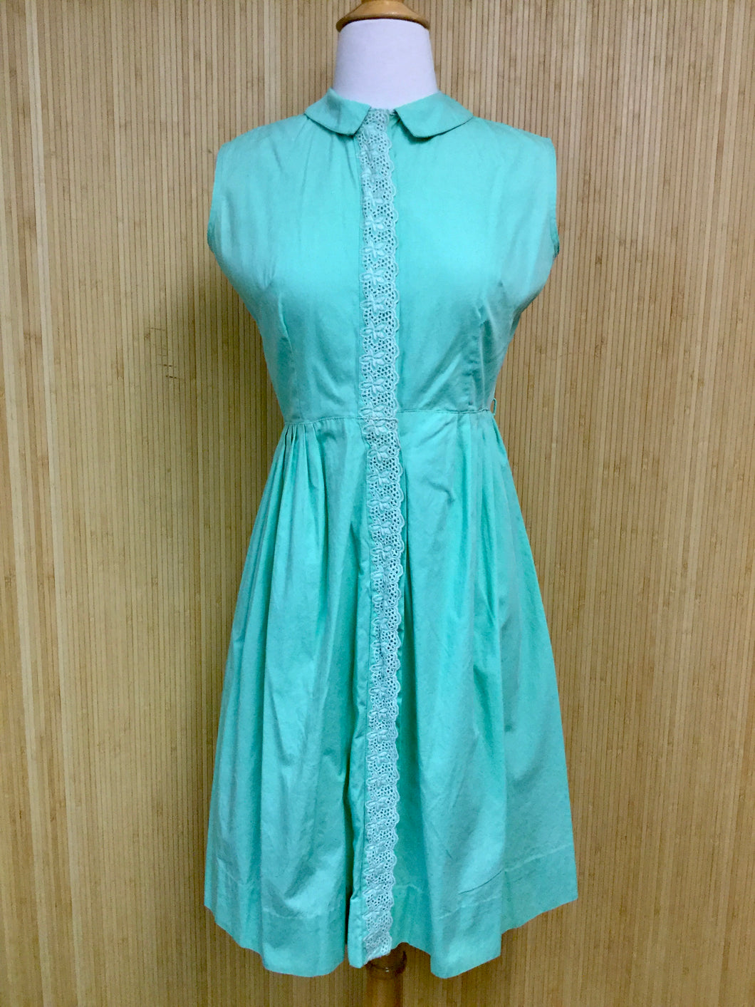 Shirtwaist Classic Cotton Dress (XS)