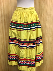 Vintage Seminole Skirt (S)