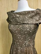 Load image into Gallery viewer, Vintage Handmade Lace Midi Dress (XS)