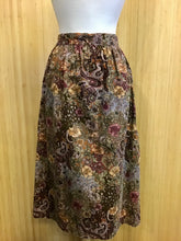 Load image into Gallery viewer, Vintage Handmade Corduroy Midi Skirt (M)
