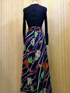 Caroline Long Sleeved Maxi Dress (XS)