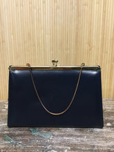 Load image into Gallery viewer, Navy Leather Purse