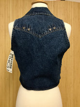 Load image into Gallery viewer, Western Ethics Denim Vest (S)
