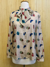 Load image into Gallery viewer, Givenchy Sport Floral Blouse (M)