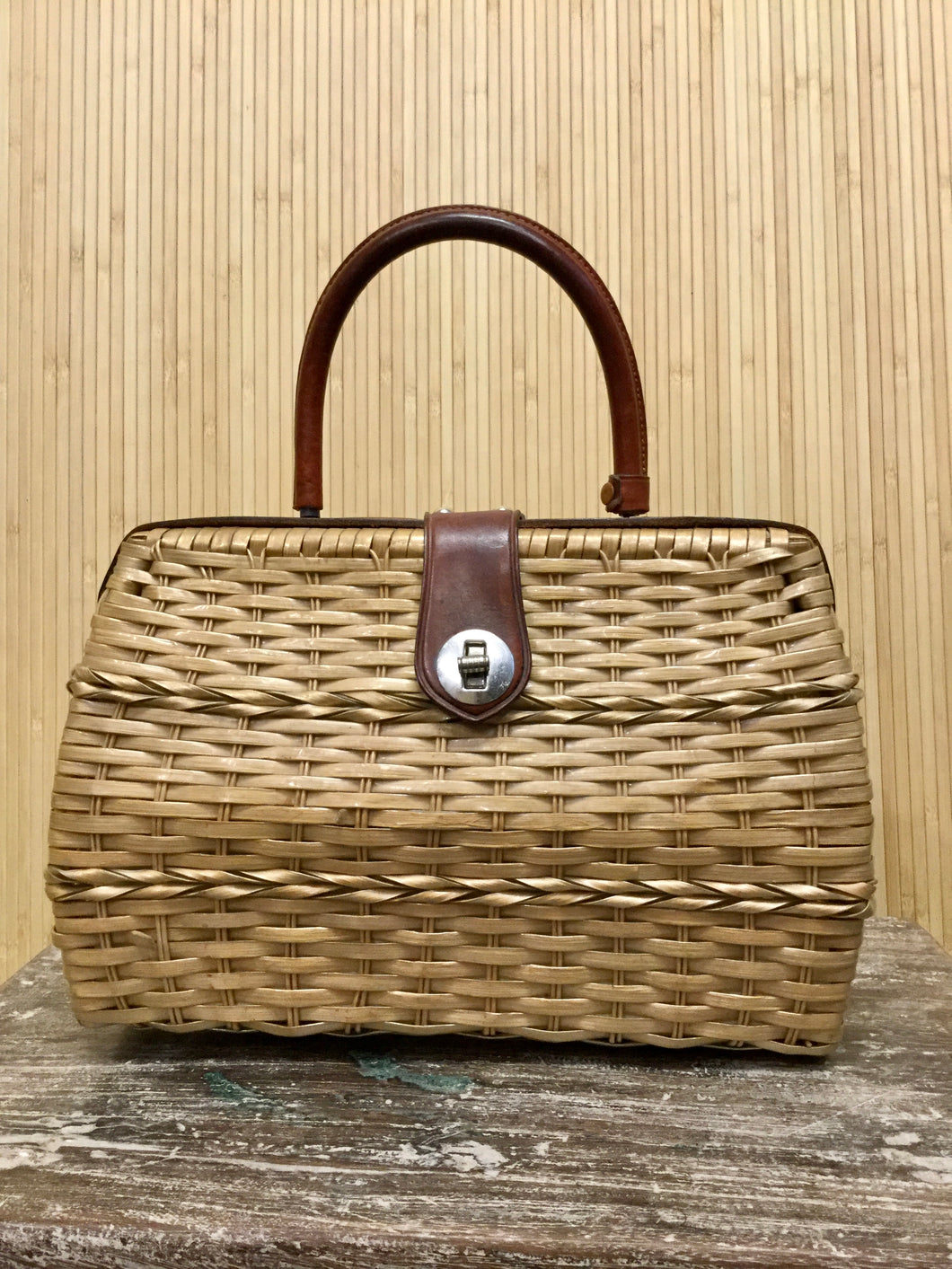 Mantessa Wicker Purse