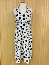 Load image into Gallery viewer, AB Studio Polka Dot Halter Dress (M)