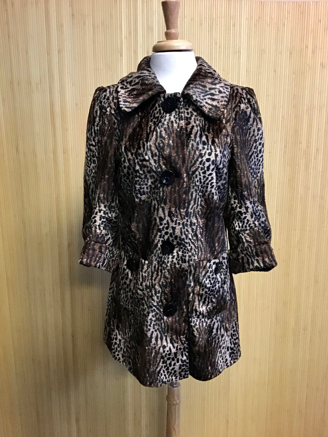 Faux Fur Guess Jacket (L)