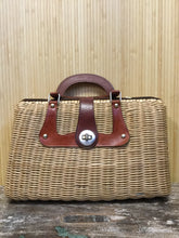 "Load image into Gallery viewer, Gimbels ""Gabrielle"" Woven Purse"