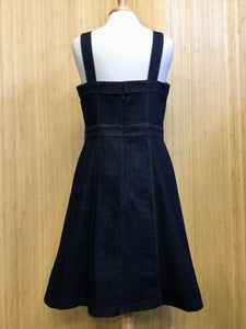 Ann Taylor Stretch Denim Dress (L)