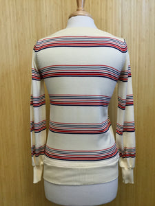 Vintage Boat Neck Sweater (S)