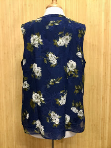 Talbots Sleeveless Floral Top (XL)