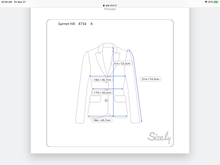Load image into Gallery viewer, Corduroy Garnet Hill Jacket (M)
