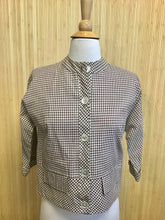 Load image into Gallery viewer, Gingham Top from Year Rouder (S)