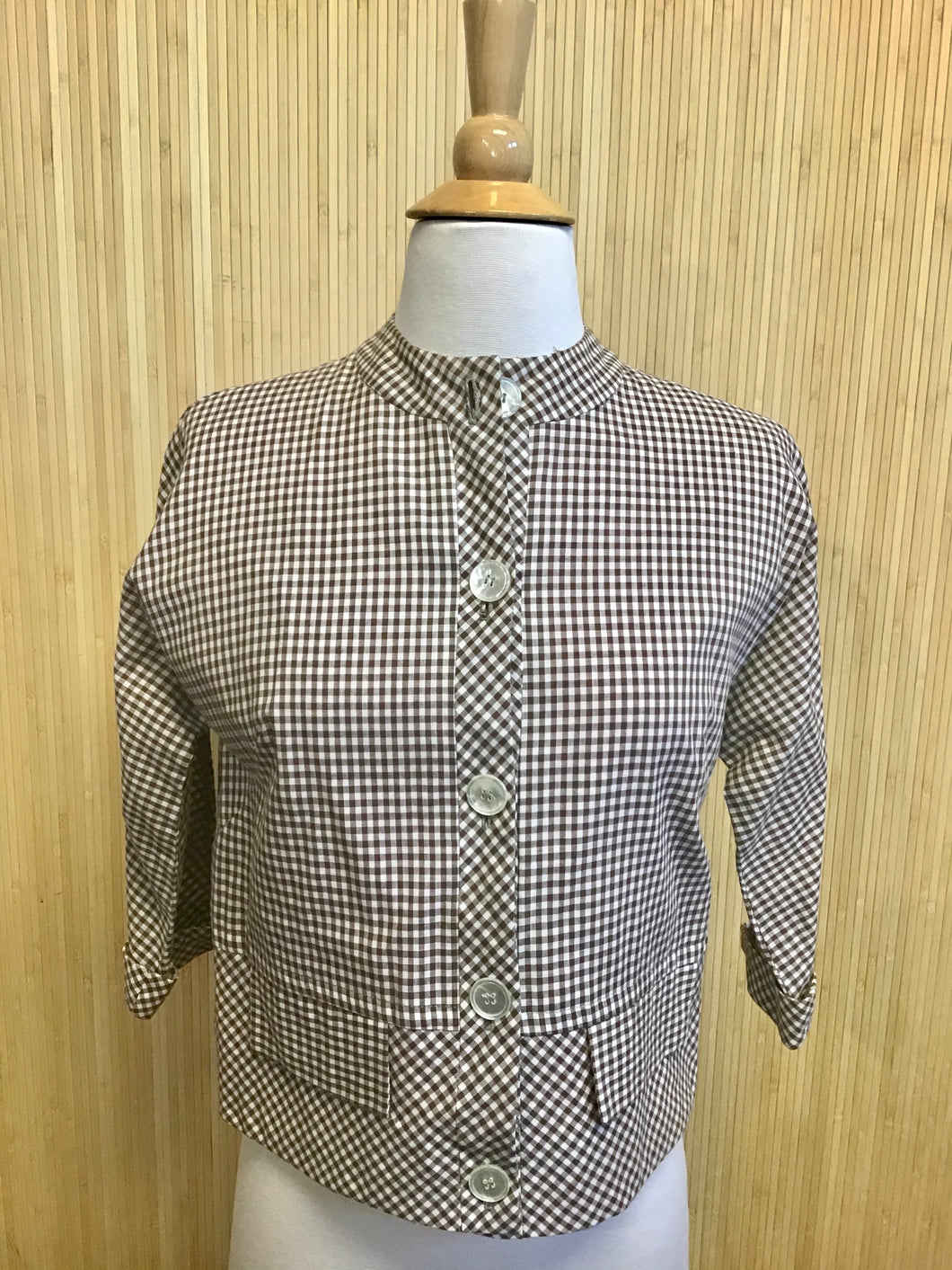 Gingham Top from Year Rouder (S)