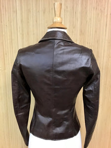 Laundry by Shelli Segal Leather Jacket (XS)