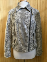 Load image into Gallery viewer, Kut from the Kloth Faux Snakeskin Jacket (L)
