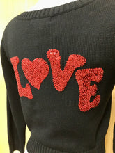 Load image into Gallery viewer, Betsey Johnson LOVE Cardigan (S)