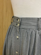 Load image into Gallery viewer, B.E.S.T American Clothing Co. Gingham Midi Skirt (M)
