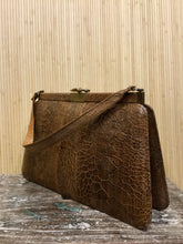 Load image into Gallery viewer, Vintage Reptile Skin Purse