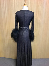 Load image into Gallery viewer, 1970's Hostess Dress (XS)