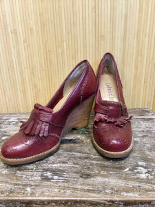 Danelle Leather Oxford Wedges (7)