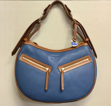 Load image into Gallery viewer, Dooney & Bourke Blue Purse