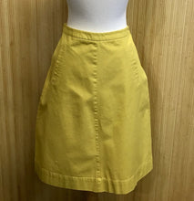 Load image into Gallery viewer, Yellow Boden Pencil Skirt (S)