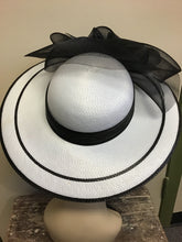 Load image into Gallery viewer, Vintage Wide Brimmed Hat