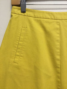 Yellow Boden Pencil Skirt (S)