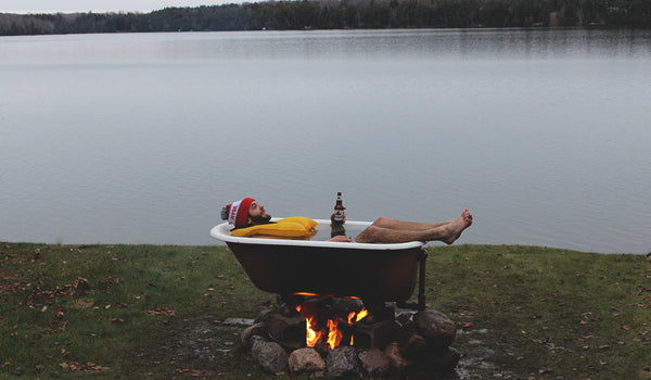 The Campfire Hot Tub