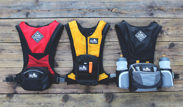 Hyde Wingman Chestpacks and Waistpacks Inflatable Life Jacket