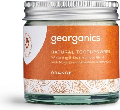 GEORGANICS BLANQUEADOR DENTAL EN POLVO NARANJA 60ML