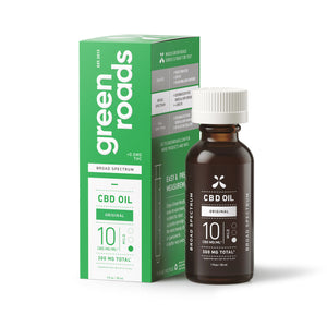 BROAD SPECTRUM CBD OIL - 300MG