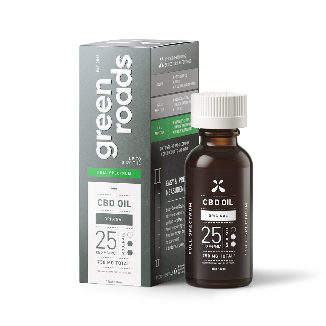 FULL SPECTRUM CBD OIL - 750MG