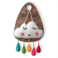 Cloud Wall Hanging, Rainbow