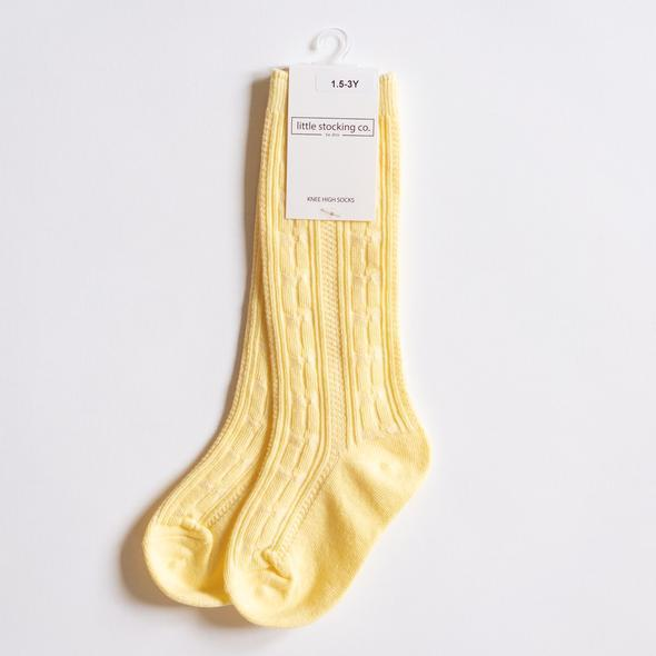 Knee High Socks - Lemonade