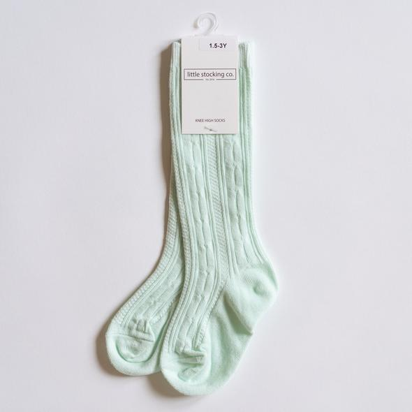 Knee High Socks - Mint