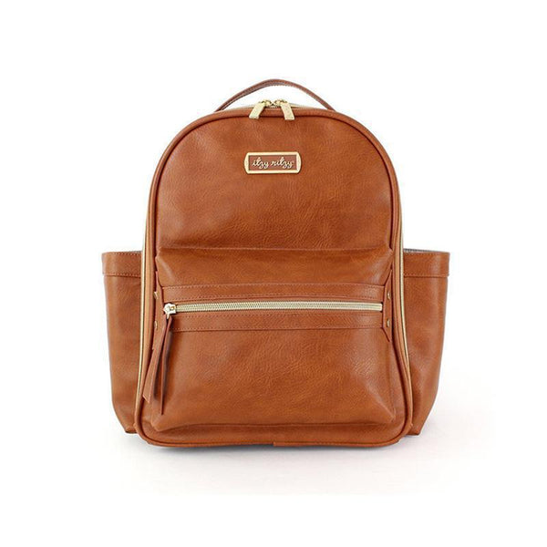 Mini Boss Backpack, Cognac