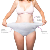 High-Waist Disposable C-Section Brief, 8 Pack