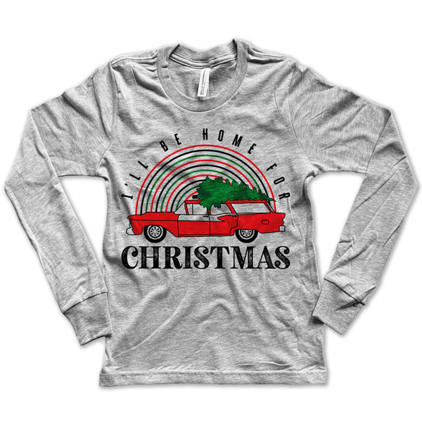 Home for Christmas Long-Sleeve Tee