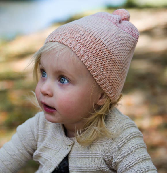 Baby Beanie - Louise, Pink