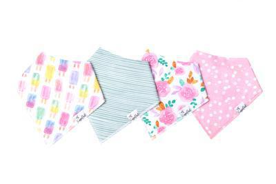 Bandana Bib Set - Summer