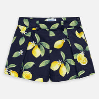 Shorts - Navy Lemon